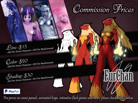 FurChan - Commission Prices 2015 by FurChan