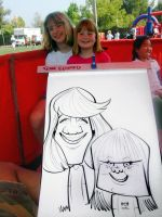 caricature gig by marcocano