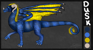 Contest entry - Dusk The Dragon by Tontora