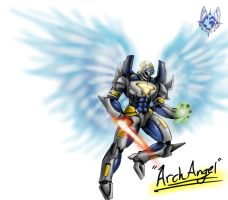 Kaiju Wars: ArchAngel by Blabyloo229