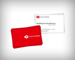 Oxycuisine Business Card by pixeltn