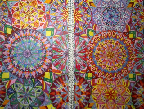 Colourful Mandalas by Annaella