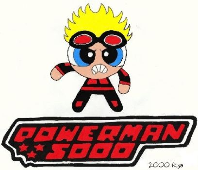 Powerman Powerpuff by ryamcshme
