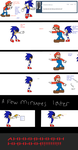 Mario and Sonic meet Sonic.exe (tumblr response) by TJ0001