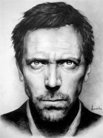 Hugh Laurie dr house by frescasebrava