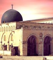 Alaqsa mosque dome by inPalestine