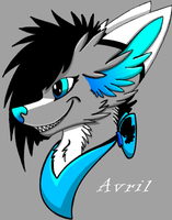 Avril headshot by XNeonFeather