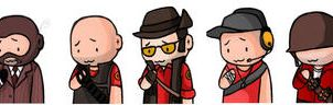 Team Fortress 2 - Team RED by doktorzara