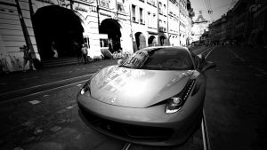 Ferrari 458 parked - Bern by MercilessOne