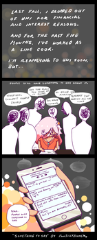 (Comic) Something to Say by TwoSillyBuns