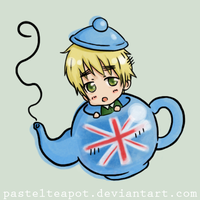 English Teapot by pastelteapot