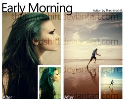 Early Morning Actions by thethiirdshift