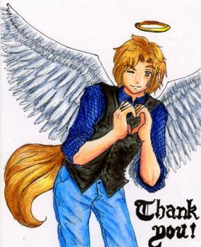GA - Nathan Thank You Card by Dareru