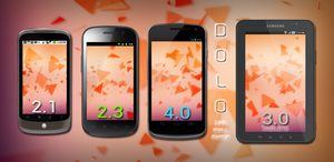 DOLO Tris Live Wallpaper for Android by retareq