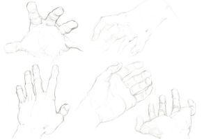 hands study by MATking