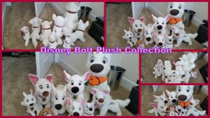 Disney Bolt Plush Collection by Vesperwolfy87