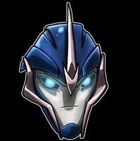 Arcee Helm by Laserbot