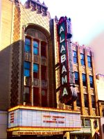 Alabama Theater by billyvector