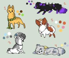 Doggy adopts .:CLOSED:. by jealousapples