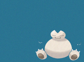 Snorlax Wallpaper by TheeZinc