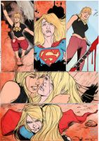 Wonder Girl 03 - pencils by Alejanfigueroa by cyomAn