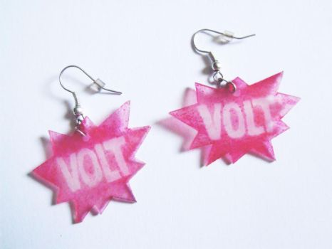 VOLT festival earrings by pingvinkecs
