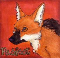 Padfoot Con Badge by Korrok
