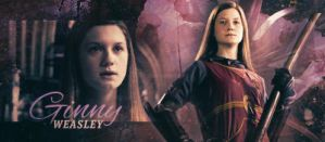 Ginny Weasley Signature Banner by StefanMK1