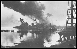 Sinking of the French Fleet 6 by parry