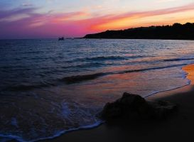 Algarve Sunset 'revised' by tartanink