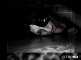Kayla Lies Waiting by skinlikechains