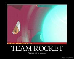 Demotivational: Team Rocket's Rockin' by Hatsodoom