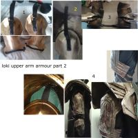 Loki Upper Armour Armour Part 2  by sasukeharber