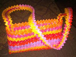 Starburst Wrapper Purse by teenuhhh