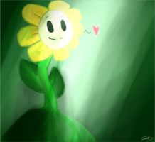 Flowey by Some-Cold-Snow