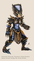 Harpy Armour by Key-Feathers