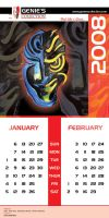 Genies Collection Calendar 001 by hamdankhatri