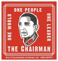Chairman Obama no. 3 by RedTusker