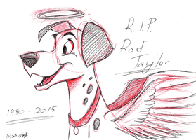 RIP Rod Taylor by Stray-Sketches