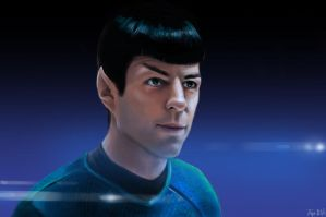 Spock -- Star Trek by MrBorsch