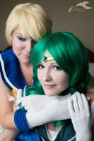 Uranus and Neptune II by MelfinaCosplay