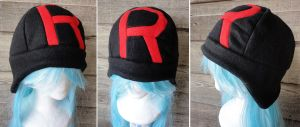 Black Team Rocket Hat by akiseo