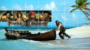 Pirates of the Caribbean Wallpaper 2 by GregKmk