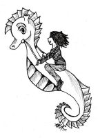 Ride the Seahorse by kittykinetic