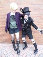 Black Butler - Smile for the Camera by ember-ablaze