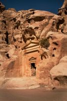 Tombs of little Petra by ruthsantcortis