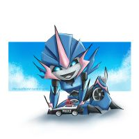 Arcee Chibi Commission by The-Starhorse
