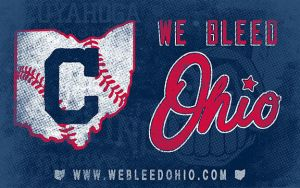 We Bleed Ohio promo banner by Griggitee
