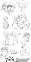 Supernatural collage 2 by DeanGrayson