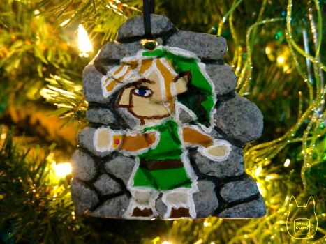 A Link Between Worlds Ornament by studioofmm
